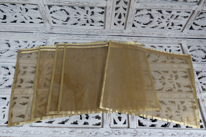 Gold Suit Bags - New - Indian Suit Company