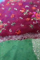 2Kg Mixed Bundle Of Fabric Swatches - Indian Suit Company