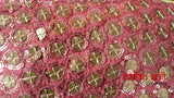 Green & Pink Mirrored Lengha - UK Size 10 / EU 36 - Preloved - Indian Suit Company