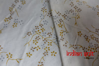 White Voile & Cotton Churidaar - New - UK 14 / EU 40 - Indian Suit Company