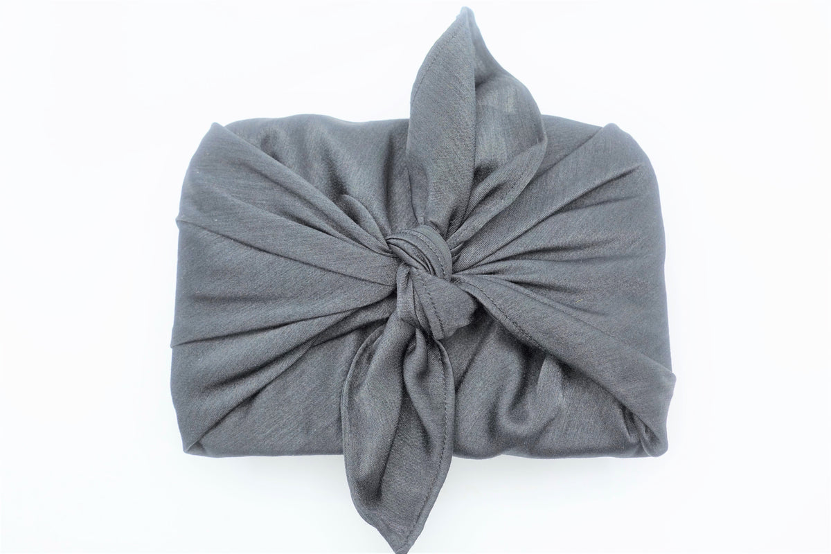 Black Sateen Giftwrap 45 X 45Cm - Extra Small - Indian Suit Company