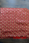 Red Banarsi Brocade Beaded Tablecloth - New - Indian Suit Company