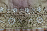 Vintage Organza Zardosi Cover - New - Indian Suit Company