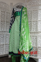 Green Churidaar Kameez suit - Size UK 8/ EU 34 – new