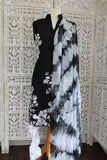 Black & White Churidaar Suit - Size UK 12 / EU 38 - Preloved - Indian Suit Company