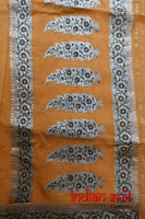 Sun Yellow Banarsi Indian Vintage Silk - New - Indian Suit Company