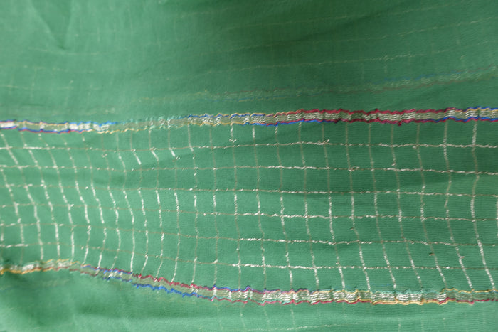 Green Chiffon Scarf - New - Indian Suit Company