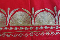 Red Wool Shawl - New - Indian Suit Company
