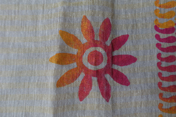 Cotton Printed Scarf - New - Indian Suit Company