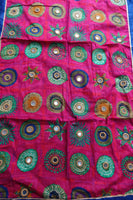 Colourful Cotton Mirrored Brand Scarf - New - Indian Suit Company