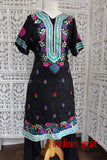 Black & Blue Salwar Kameez -UK 20 / EU 46,  €€Œ Preloved - Indian Suit Company