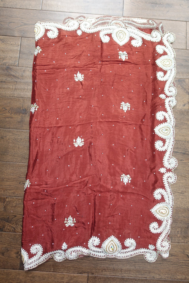 Brown Salwar Kameez UK 12 / EU 38 - Preloved - Indian Suit Company