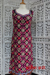Black Chiffon Mirror Kameez UK 8 / EU 34 - Preloved - Indian Suit Company
