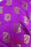 Fuchsia Pink Choli Tunic Sari Blouse UK 12 / EU 38 - New - Indian Suit Company