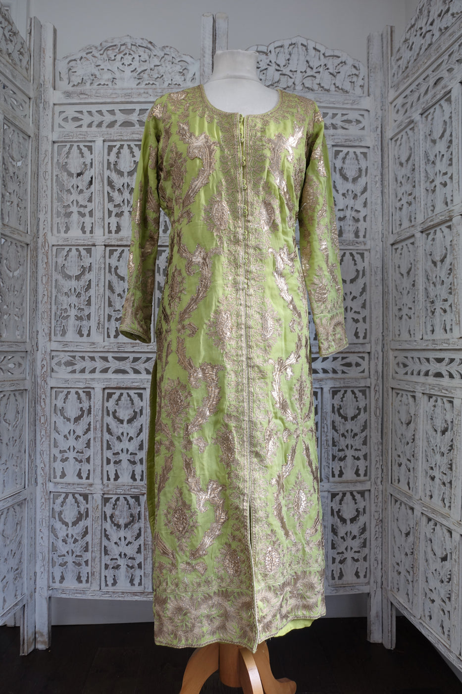 Green Indian Bollywood kameez - UK 16 / EU 42 - Preloved