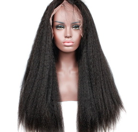 Full Lace Kinky Straight Wig