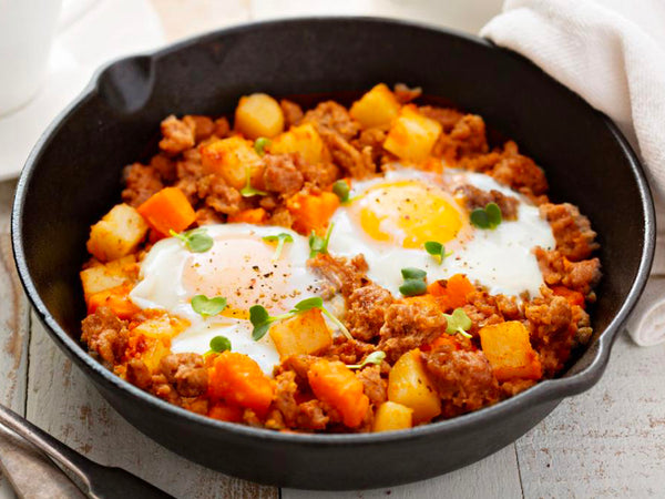 Sausage and Squash Breakfast Hash