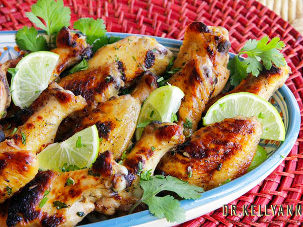 Chipotle Lime Chicken Wings