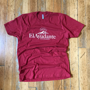 Short Sleeve Logo Tee - Red