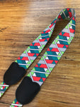 Kalena Ukulele Hook Strap (multifunctional print+ABS hook+real leather) - Kalena Instruments / Pattern-01