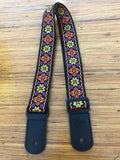 Kalena 2 Pin Ukulele Strap  Multi-Colored 14 - Kalena Instruments