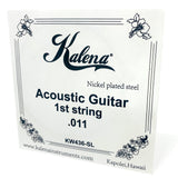 Kalena Acoustic Guitar Strings - Kalena Instruments / 1st String .011