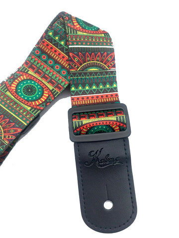 Kalena 2 Pin Ukulele Strap  Multi-Colored 43 - Kalena Instruments