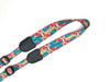 Kalena Ukulele Hook Strap (multifunctional print+ABS hook+real leather) - Kalena Instruments / Pattern-02