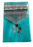Kalena 17 key Solid Mahogany Kalimba with Gig Bag - Kalena Instruments