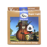 Kalena Acoustic Guitar Strings - Kalena Instruments / Super-Light .011-.052