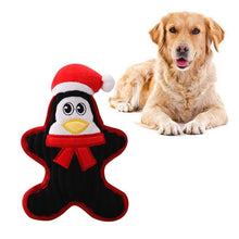 Load image into Gallery viewer, Christmas Dog Cat Toys Snowman. Santa Claus, Penguin
