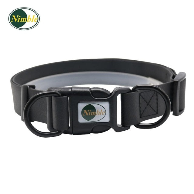 High quality pet dog collar PVC waterproof