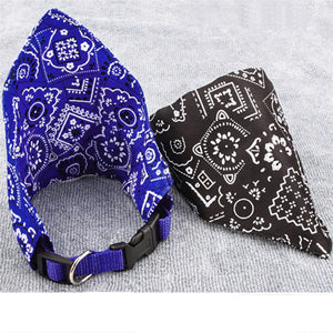 Adjustable Pet Dog Neck Scarf Collar