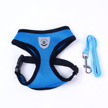 Load image into Gallery viewer, Breathable Mesh Small Dog Pet Harness and Leash Set
