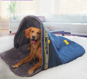 Sleeping Bag Dog Bed