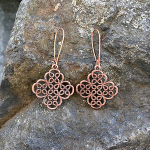 Clover Filigree Lace Earrings