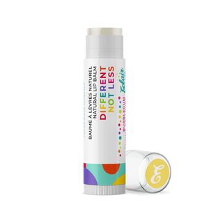 DIFFERENT NOT LESS lip balm - lip balm autism acceptance