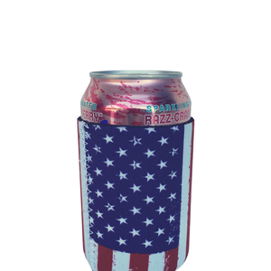 American Flag Regular Size Can Cooler