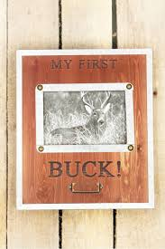 My First Buck metal and wood frame ( 4X6)