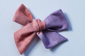Pink And Purple Ombre Hair Bow