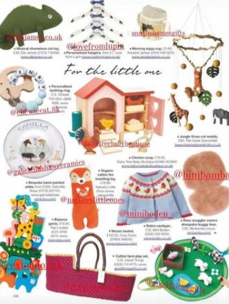We are on Country Life Magazine's Christmas gift guide