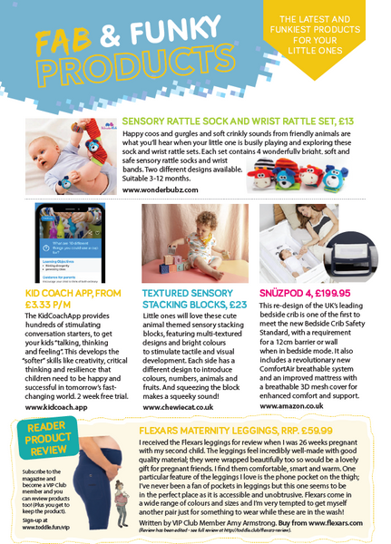 We are on Toddle About Magazine's Fab & Funky Products