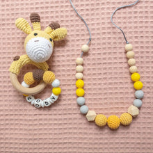 Load image into Gallery viewer, Evelyn Teething Necklace Set