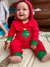Load image into Gallery viewer, Personalised Christmas Tree Romper