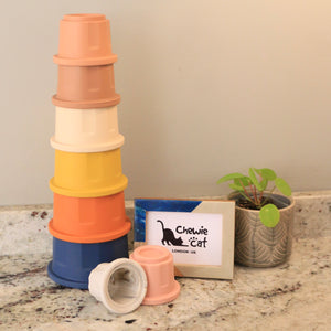 Silicone Stacking Cups