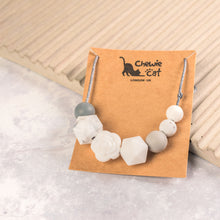Load image into Gallery viewer, Grace Teething Necklace - White
