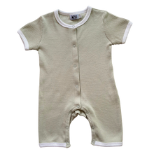 Load image into Gallery viewer, Short Sleeve Personalised Romper - Sage Green