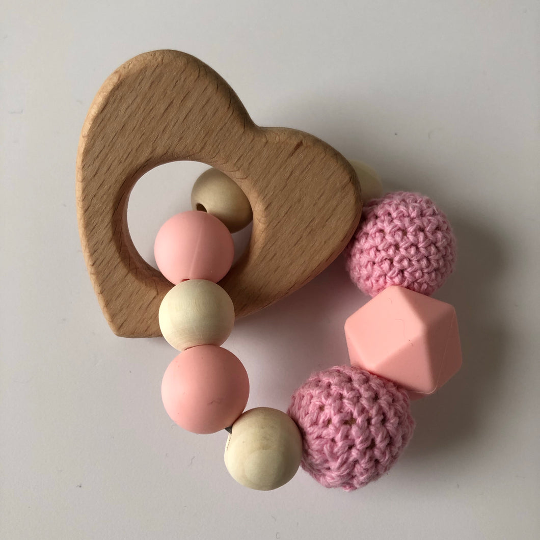 Handmade Wooden Teething Ring-Teethers-Chewie Cat-Chewie Cat