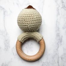Load image into Gallery viewer, Crochet Boobie Teething Rattle-Chewie Cat-Chewie Cat