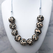 Load image into Gallery viewer, Leopard Teething Necklace-Necklace-Chewie Cat-Chewie Cat